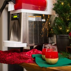 holiday themed frozen drinks